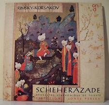 "33 tours R. KORSAKOV Vinyl LP 12"" SCHEHERAZADE TRIESTE PERLEA - CN du DISQUE 805"