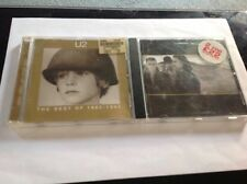 Two U2 CD's - The Joshua Tree & The Best Of 1980-1990