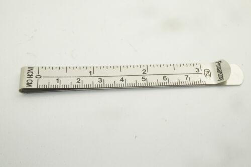 6-pcs 3 mesure Clip Hemmer no pin Ourlet clip avec marquage dirigeant Guides pouces et cm