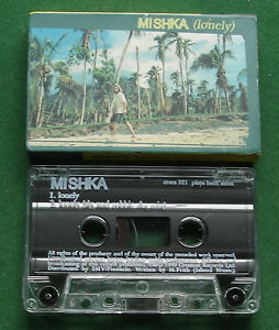 Mishka Lonely / Sly & Robbie Ska Mix Creation Label Cassette Tape Single TESTED