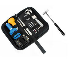 Professional 26pc Watch Tool Kit Link Remover Case Opener Band Adjuster Invicta