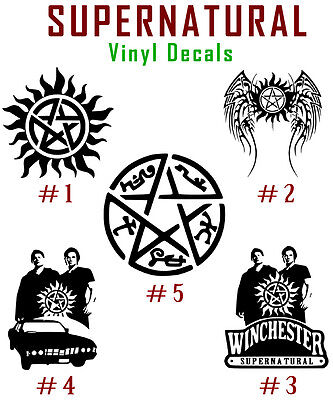 Anti-Possession Symbol Decal Sticker VooDoo Demons Wicca Magic Witchcraft 5/""