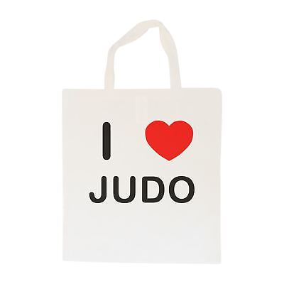 I Love Judo - Cotton Bag | Size choice Tote, Shopper or Sling