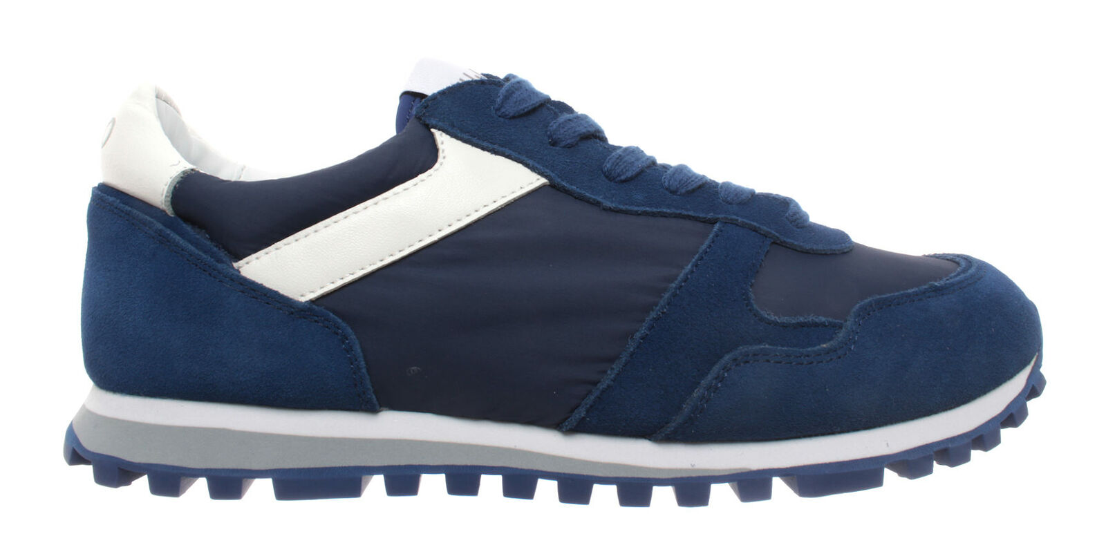 Herren Schuhe Turnschuhe LIU JO Milano Alex Running Blau Marine Blau Neu