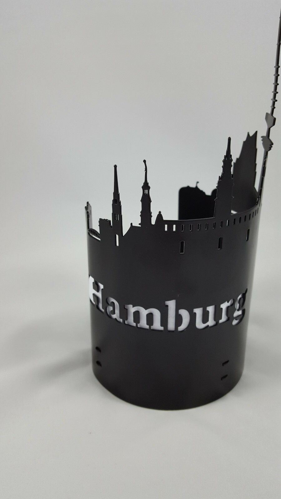 Windlicht Hamburg schwarz  | Verschiedene