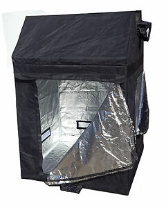 Image is loading Roof-Grow-Tent-1-2m-x-1-2m-  sc 1 st  eBay & Roof Grow Tent 1.2m x 1.2m x 1.8m LOFT ATTIC 600D TENT GROW LIGHT ...