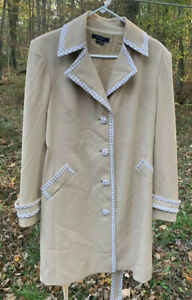 The Cheapest Price Eci New York Coat Dress Size 10 Houndstooth Nwt Clear And Distinctive