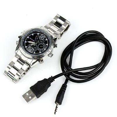 Mini 8GB DVR Waterproof HD 1080P Spy Hidden Watch Camera Night Vision Camcorder