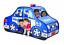 Kids Pop Up Playhouse Pop Up Tent Police car Tent by TravenPal