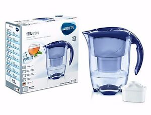 Brita-Elemaris-Cool-2-4L-Fridge-Water-Filter-Jug-Blue-1-Maxtra-Filter