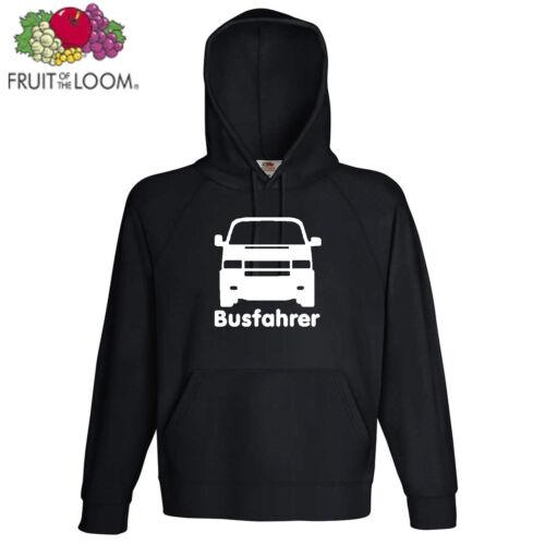 Autista di autobus t4 con cappuccio Top s-2xl culto auto bulli