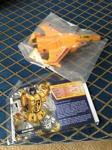 Botcon 2013 Transformers Machine Wars G1 Rainmakers Sunstorm Single Exclusif