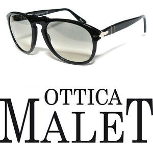 Persol Customized Occhiali 649 Black Grey Gradient Occhiali Nero 56 sole da 3uTKcFlJ1