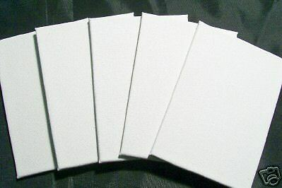 10 magnetic 4x4 small blank fridge artist canvas panels refrigerator