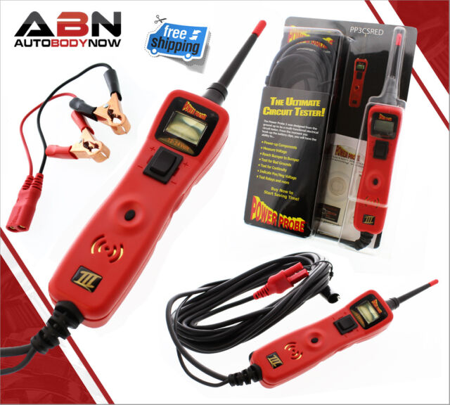 Voltmeter PP3CS in Red Power Probe 3 III Circuit Tester