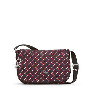 RRP £69 Kipling EARTHBEAT S Small Shoulder Bag RADIANT RED C FW18