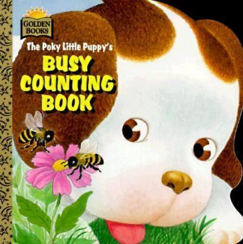The Poky Little Puppy's Busy Counting Book by Rita Balducci