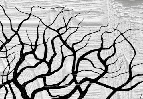 ABSTRAKT BÄUME KUSS LIEBE Wandbilder xxl Bilder Vlies Leinwand a-A-0382-b-e