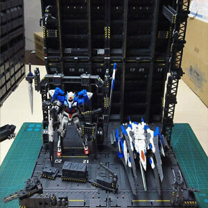 Mechanical-Chain-Action-Base-Machine-Nest-for-MG-1-100-Gundam-Model-W-Decals-DIY