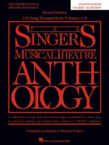 Singer's Musical Theatre Anthology: Baritone Bass 16-bar Audition 000260627