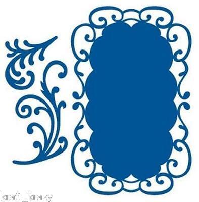 MARIANNE DESIGN CREATABLES DIE CUT EMBOSSING STENCIL PRETTY FLOWER FRAME LR0116