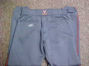 2015 University of Virginia Cavaliers Baseball Worn/Used Game Pants Size 40/32
