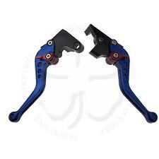 Blue CNC Shorty Brake Clutch Hand Levers Set Yamaha FZ6 FZ07 FZ8 FZ09 FZ1 XJ6