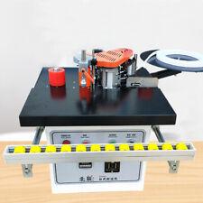 Edge Banding Machine Woodworking Edge Bander Double Sided Gluing Machine 220v