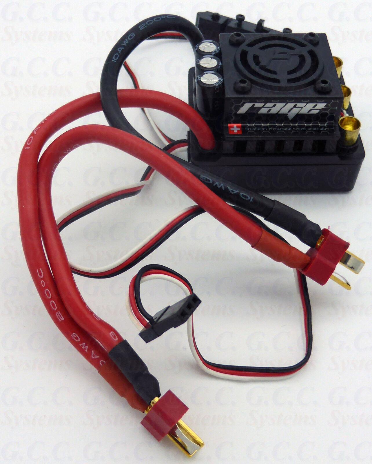 Hpi Racing Flux Rage 80Amp 1 8th Brushless ESC 101712-Nuevo