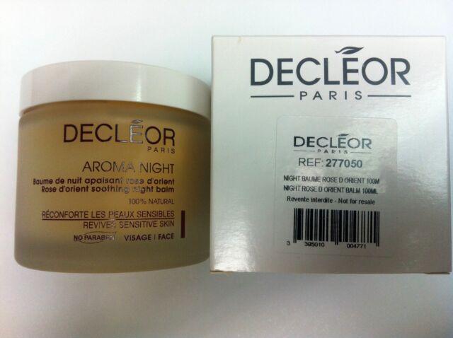 Decleor Aromessence Rose D'Orient Soothing Night Balm 100ml Pro Salon #AU