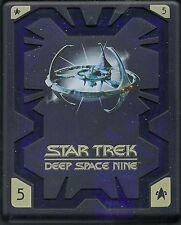 Star Trek Deep Space Nine Season 5 Hartbox Deutsche Ausgabe OOP