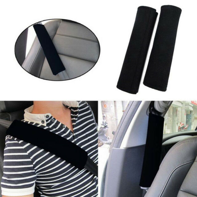 2Pcs Car Safety Seat Belt Shoulder Pads Cover Cushion Harness Pad Protector Hot