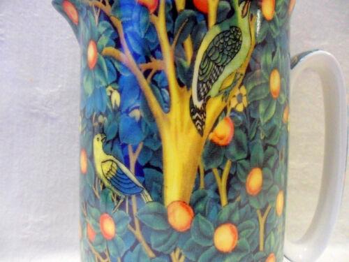 William Morris Woodpecker OISEAUX grand pichet par le Abbeydale collection