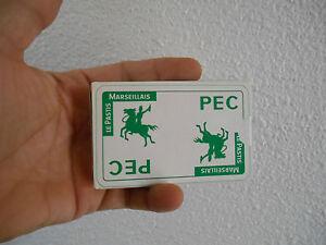 Ancien  Jeu de Carte Pec Pastis Marseillais 32 cartes Belote Manille Piquet