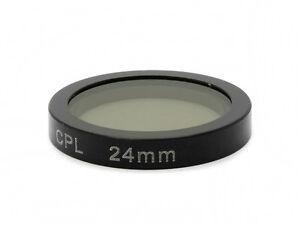 For-Mini-0826-1296P-Dash-Camera-Magnet-Hang-Polarizing-Lens-Clip-CPL-Filter-24mm