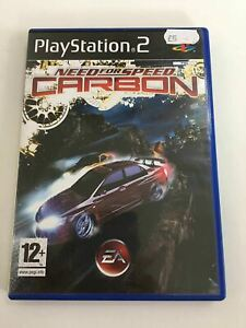 Video-Game-Sony-PlayStation-2-Need-For-Speed-Carbon-Electronic-Arts
