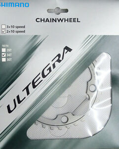 Shimano Ultegra 6750 34 T 110 mm 10-Speed Bike chainring