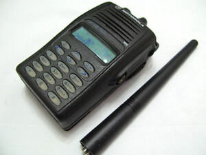 Motorola-GP338-Plus-UHF-403-470-Mhz-128-Channel-Two-Way-Radio-Free-Accessories
