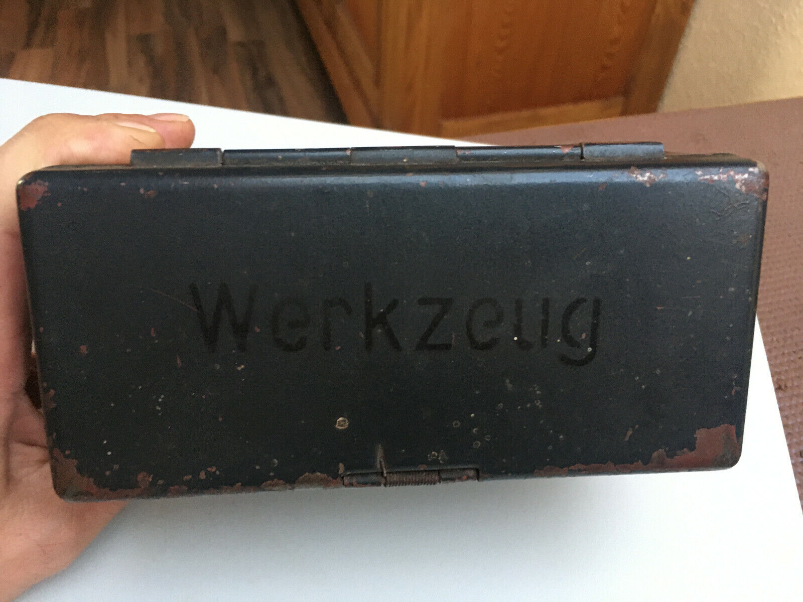 100 REACH. Wehrmacht Werkzeug Ersatzteile Kiste für DKW C10 ...