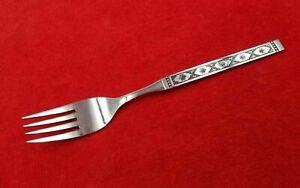 Dinner-Fork-Lisbon-by-Oneida-Distinction-Stainless-Flatware-Black-Accent-7-1-4