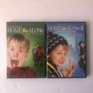 Home-Alone-1-amp-2-Christmas-DVD-LIKE-NEW-John-Hughes