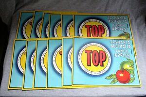 Apple-Labels-Vintage-Art-Poster-Tasmania-Collectable-Fruit-Box-Crate-Label-36