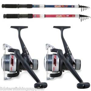 2-TELESCOPIC-LINEAEFFE-RODS-AND-REELS-7FT-8FT-10FT-12FT