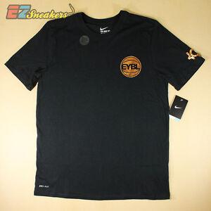 Nike active kd eybl t shirt 811651 010 new size s ebay for Kd t shirt nike