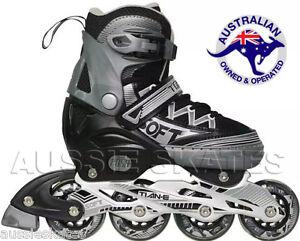 LAST-ONE-Damaged-Box-Adjustable-Roller-Blades-Inline-Skates-Euro-31-34-US-1-3