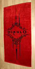 Diablo 3 III Beach Towel Rare Blizzcon 2011 Blizzard size: 145x72cm