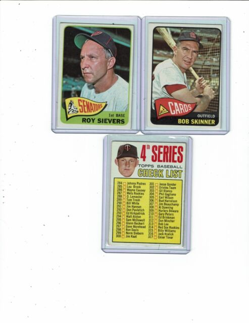 1965 1967 1968 Topps Singles You Pick Complete Your Set