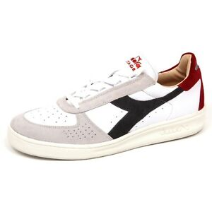 E6800 sneaker uomo white DIADORA HERITAGE B. ELITE scarpe shoe man