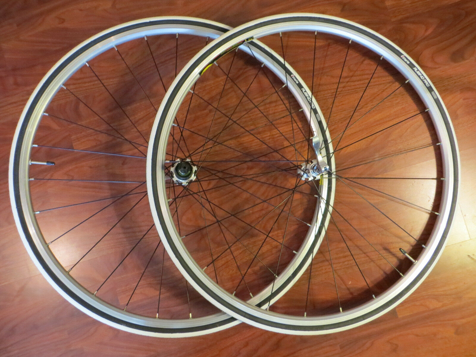 MAVIC OPEN SPORT 700C SPECIALIZED 10 SPEED  CLINCHER WHEEL SET VITTORIA PRO TIRES  high quality genuine