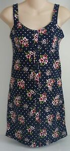 Womens-AEROPOSTALE-Dotted-Floral-Knit-Dress-NWT-8107